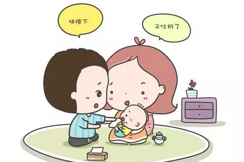 新生儿频繁吐奶是什么原因?怎么办?