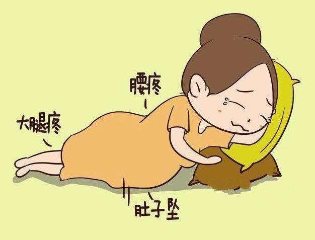 孕晚期 多数孕妈会遭遇这几种折磨 怎么缓解